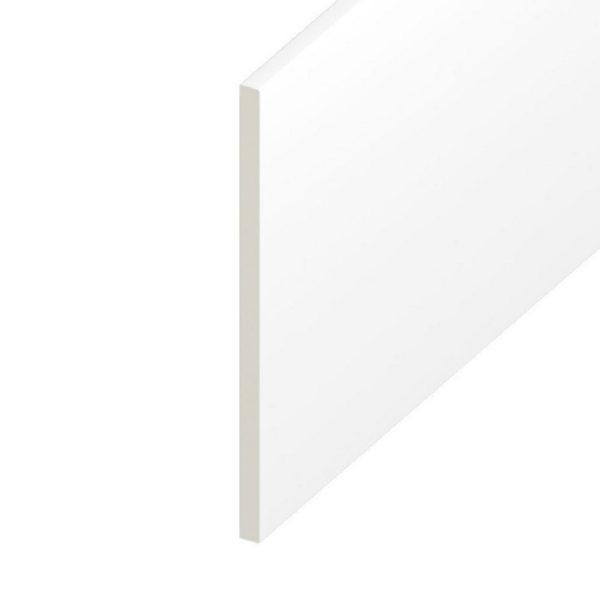 WHITE PVC FLATBOARD 5 METRE
