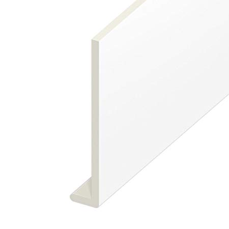 WHITE PVC FASCIA BOARD 5 METRE