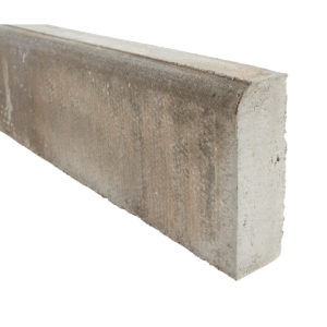 150x900mm Grey Bull Nose Edging